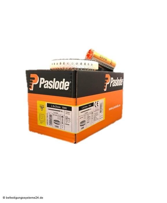 Paslode Hafte Pack Coilnägel 2,8 x 25 MM V2A