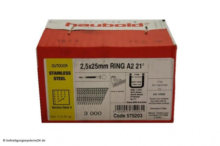 RB 25 / 25 Rille RF, Haftennagel
